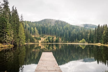 Almhütte am Bergsee