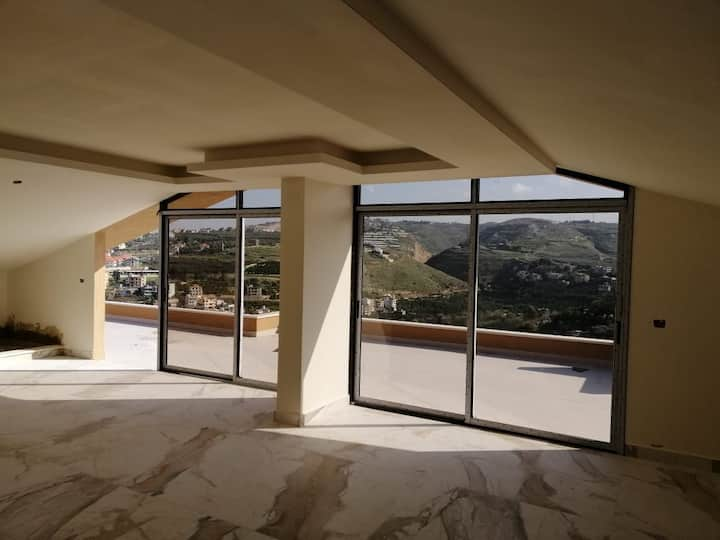 Duplex with special view