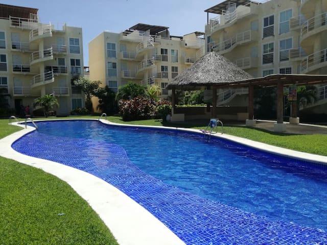 Super Depa de lujo/Roofgarden Acapulco diamante .