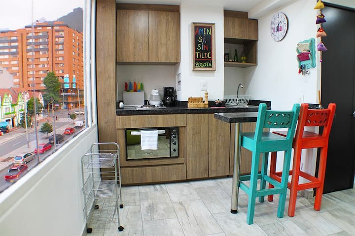 Cozy Duplex (Apartment) in Javerina Chapinero