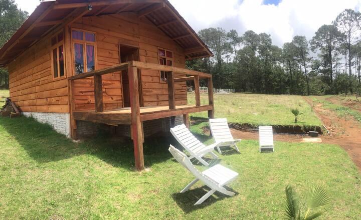 La Cabaña de Meli  Disfruta de la naturaleza