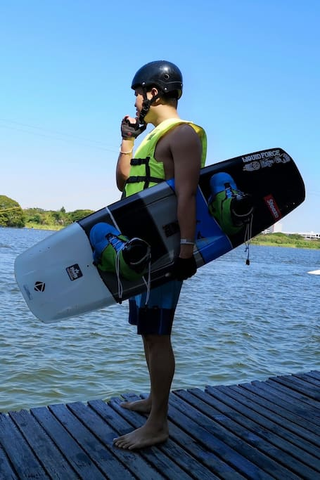 Wakeboard enjoy with us