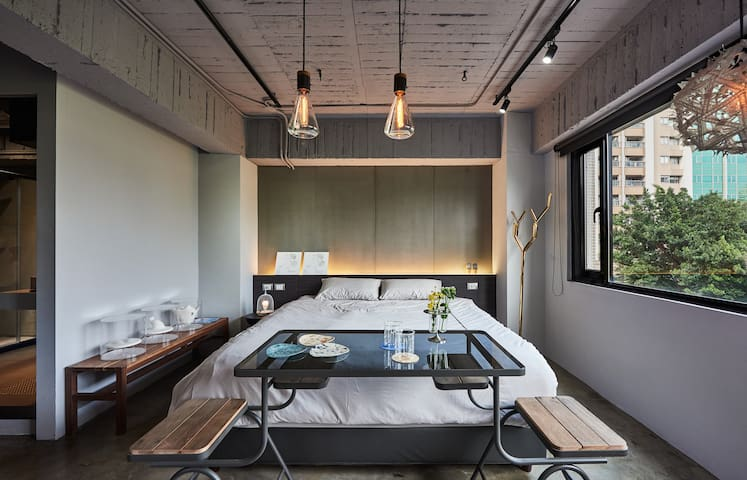 Play design hotel r2 future lab apartments for rent in for Design hotel taipei