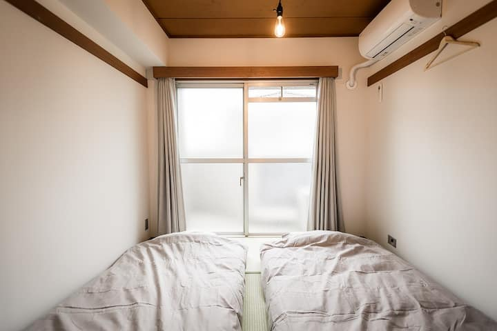 Japanese Twin Room 1(Shared Bathroom)