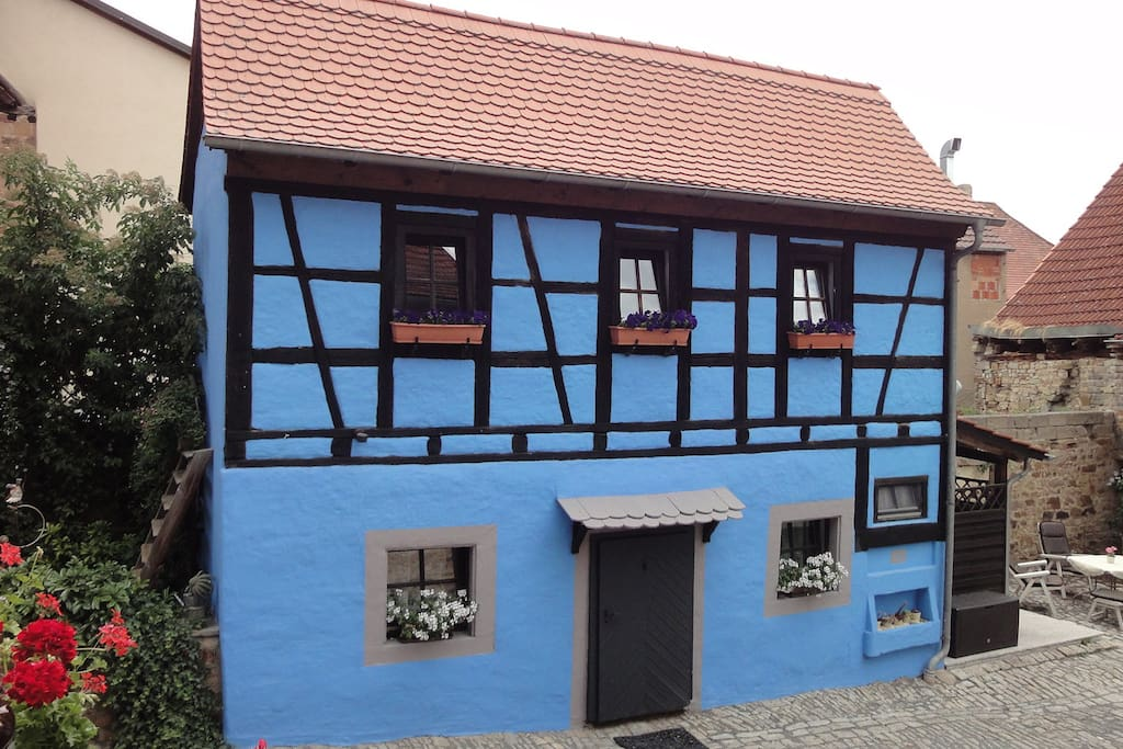 Front View of Little Bavarian Cottage