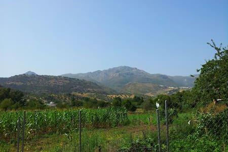 Acogedora casa rural rodeada de belleza natural - Cortes de la Frontera - 木屋