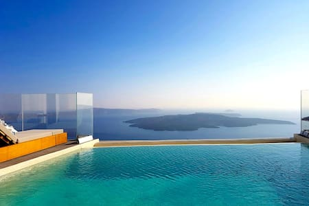 Villa Ioli with shared infinity pool - Villa