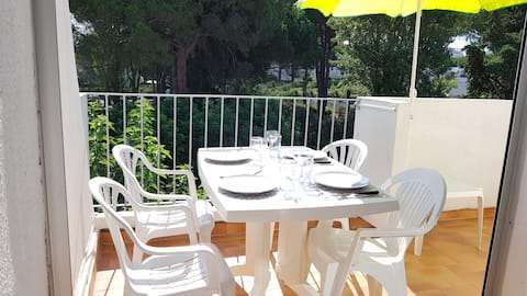 Domaine Happy-Land- Appartement - Terrasse - Clim.