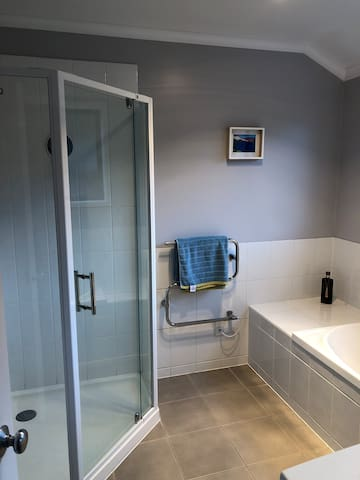 Shared Bathroom (with one other person)
