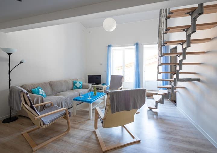 3 bedroom apartment in pretty village