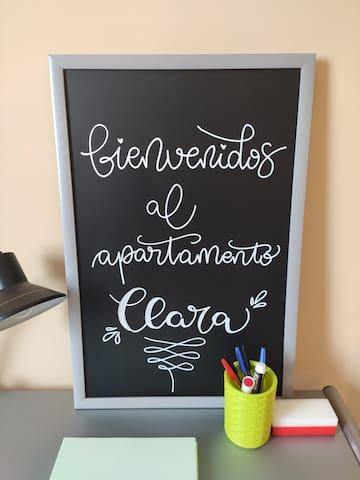 Apartamento Clara. Céntrico y acogedor