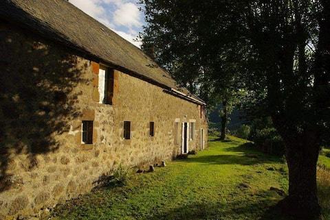 la maison Bernadou un cadre unique face au puy Mary