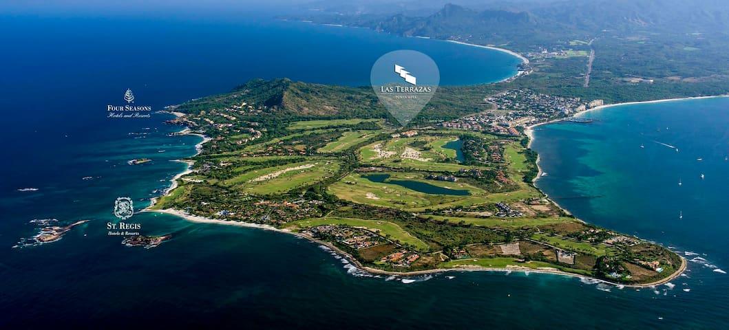 Punta Mita inside the gates, Poolside Golf Villa.