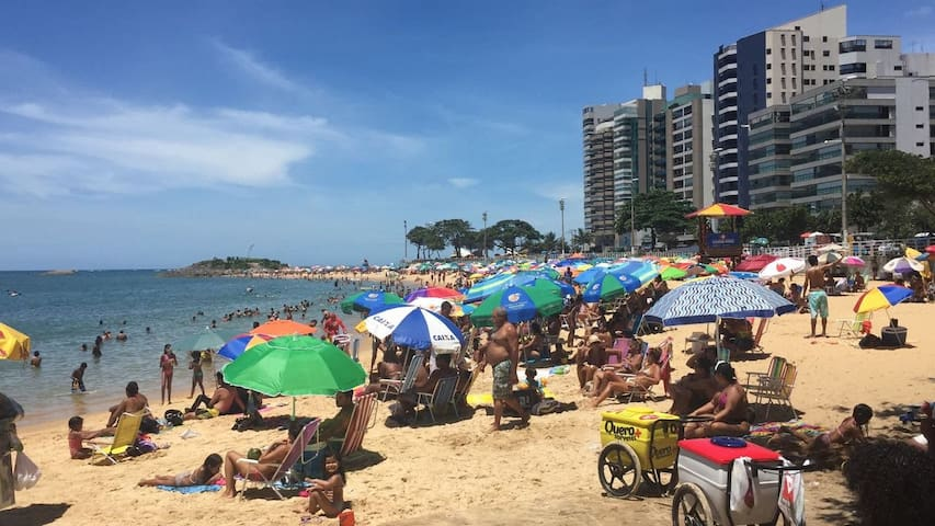 Apt. local ideal para descansar na praia de itapoã