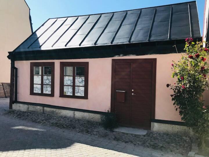 Vackert och exklusivt  litet hus i Visby innerstad