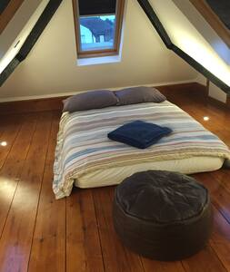 Double bed in brand new loft conversion - Croydon