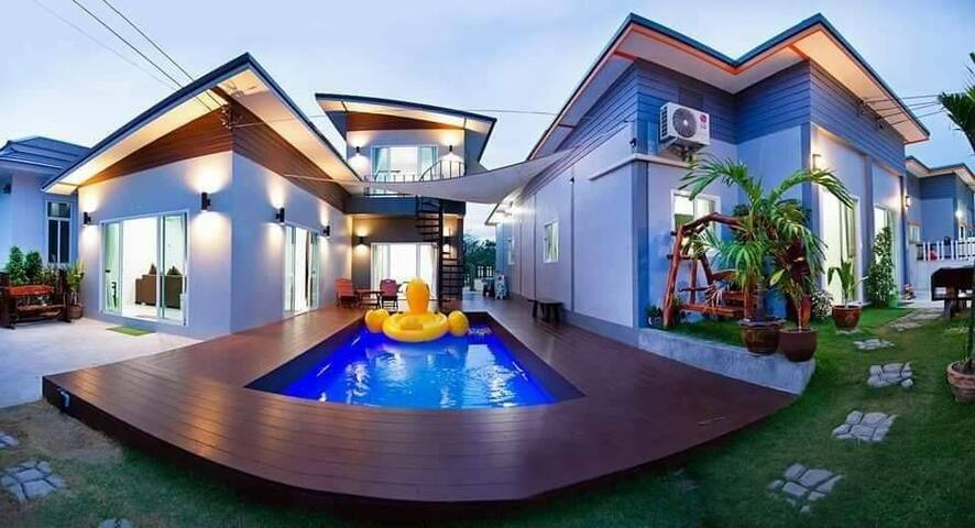 More Do Home Pool Villa Hua Hinl