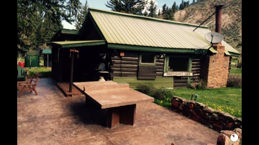 Cross Creek Ranch Log Cabin