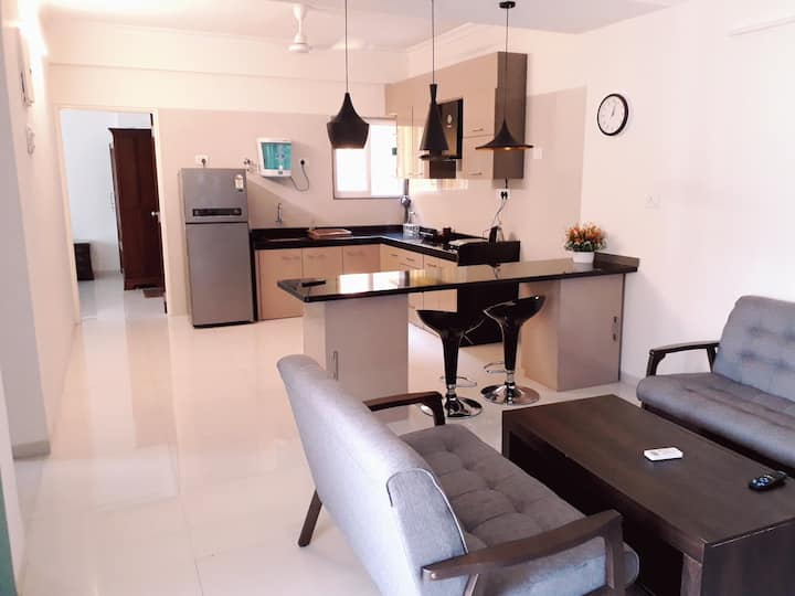 Elegant 2BHK Apartment with Pool in Anjuna Vagator