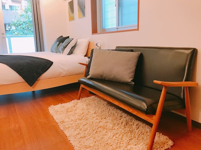 Business Friendly Shinjuku Modern Flat
