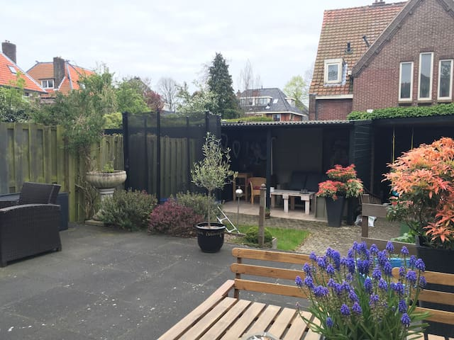 Great&light (family)house close to beach&Amsterdam - Heemstede - House