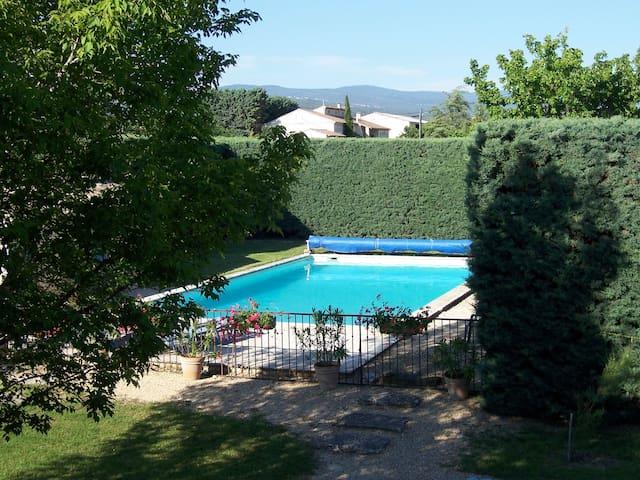 Mas provencal au coeur du Lubéron avec piscine - Joucas - House