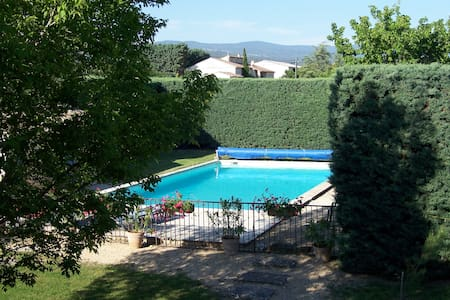 Mas provencal au coeur du Lubéron avec piscine - Joucas - Rumah