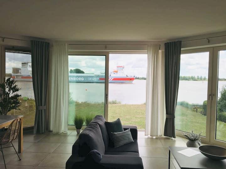 Luxuswohnung Atlantik 5* an der Weser