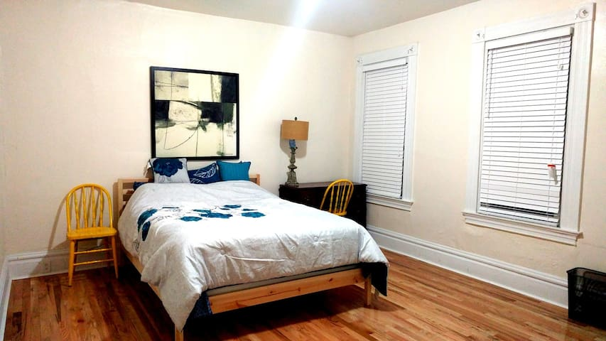 Peaceful renovated abode (master bedroom)