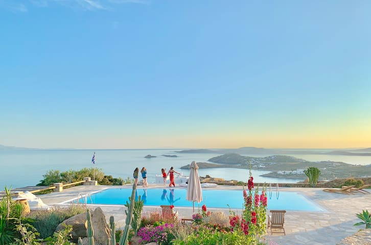 180° AegeanBlue Elevated Majestic View & Charm