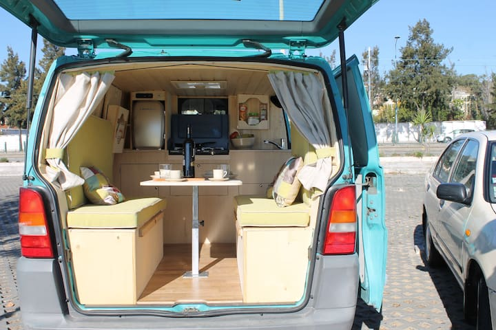 Have a vagabound experience with our vagabound van