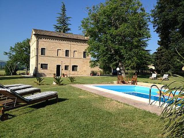 Casa Lucciola - chic rural retreat - Mogliano - Rumah