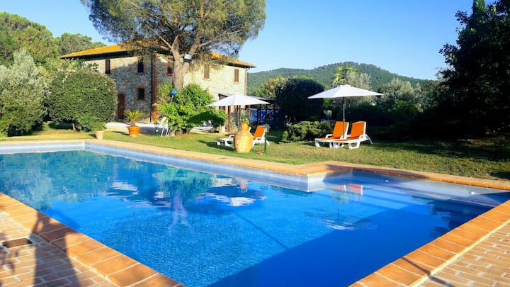 Villa,wine & cooking in Panicale