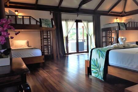 Private Island Beach Family Room