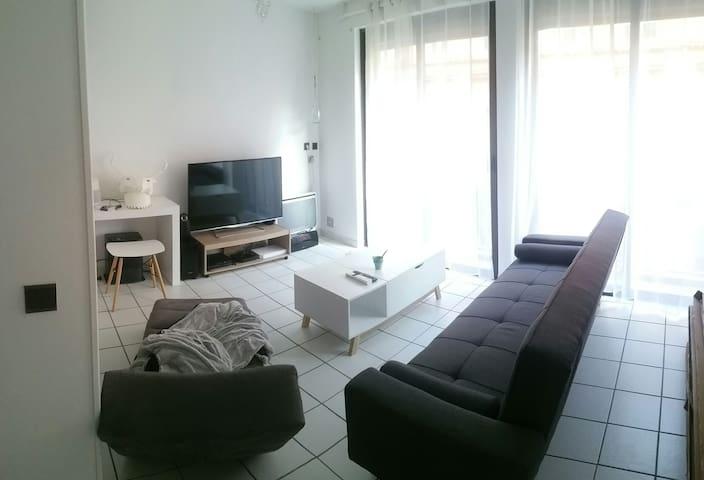 Beau t1bis en hypercentre - Toulouse - Appartement