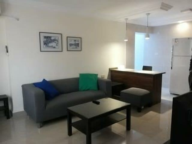 Cozy Central Furnished Apt at the 1st Circle