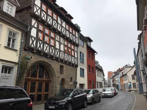 Kleines Appartement in 500 jährigem Fachwerkhaus