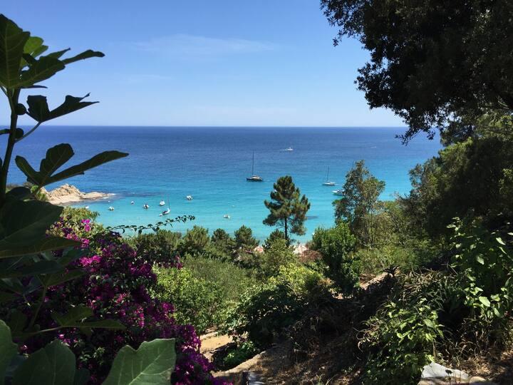 Villa de charme vue sur mer à Canella - 4 chambres