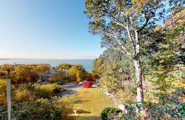 Waterfront Wonder with Bay Views, Steps to Beach
