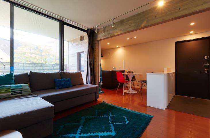 Large Designer Apt in City Centre - Shibuya - Apartment
