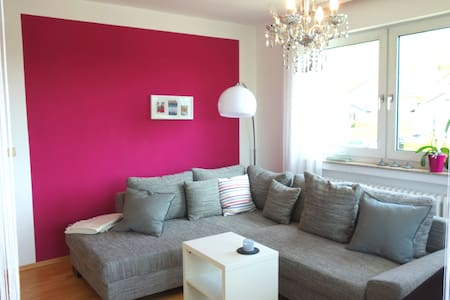 Moderne und gemütliche Ferienwohnung - Bad Bocklet - Appartamento