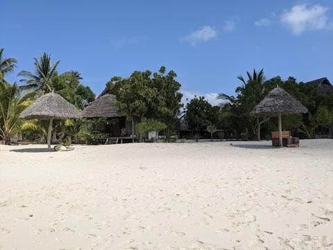 Eko bungalov priamo na pláži