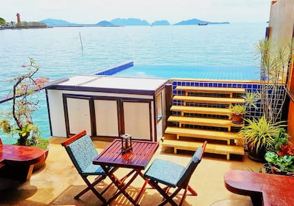 Poolvilla on the Andaman ocean, amazing seaview!