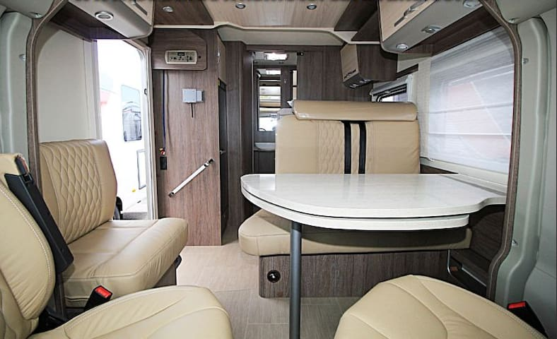2 bedrooms, WC, shower and a kitchen on wheels!!!