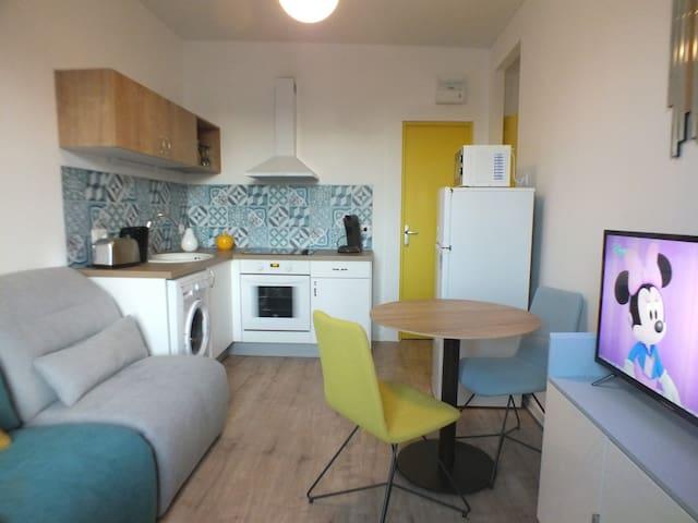 Appartement décoration scandinave