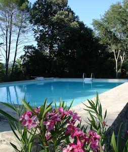Maison de caractère  piscine tennis parc. wifi - Durfort-et-Saint-Martin-de-Sossenac - Huis