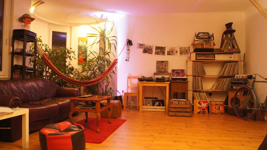 Bright room in big and beautiful apartment - Oldenburg