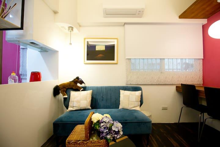 MRT Downtown Boutique Apartment 2-4P