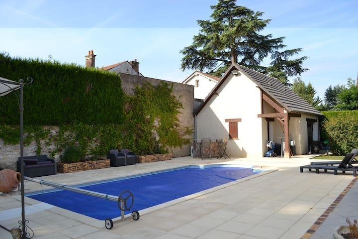 Détente en Bourgogne - Champs-sur-Yonne - Casa