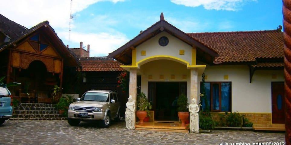 Chambres familiale  1 au milieu des rizières - Bandongan - Andere